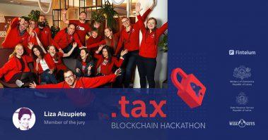 Fintelum CEO Liza Aizupiete to take part in jury for the Tax Blockchain Hackathon