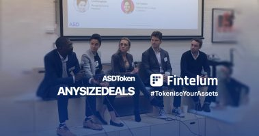 "Panel discussion ""The Ecosystem"" at the ASDToken London 2019"